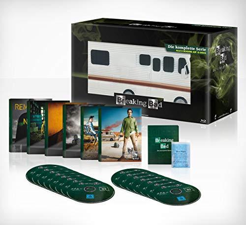 Breaking Bad – Die komplette Serie Meth Mobil auf 2500 Stück limitiert (Blu-ray) für 64,82€ (Amazon)
