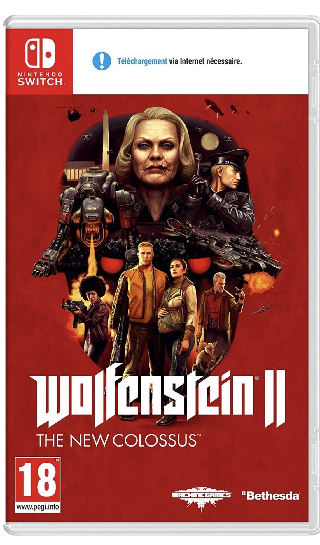 Wolfenstein 2 The New Colossus [Switch]französische Version[Prime Mitglieder]