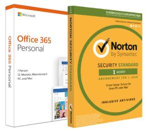NBB-Wochenangebote: z.B. Microsoft Office 365 Personal (1 Person/1 Jahr) + Symantec Norton Security | Marshall Acton II schwarz - 153,98€