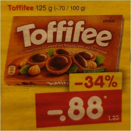 Toffifee 125-Packung für nur 88 Cent [ Netto MD ]