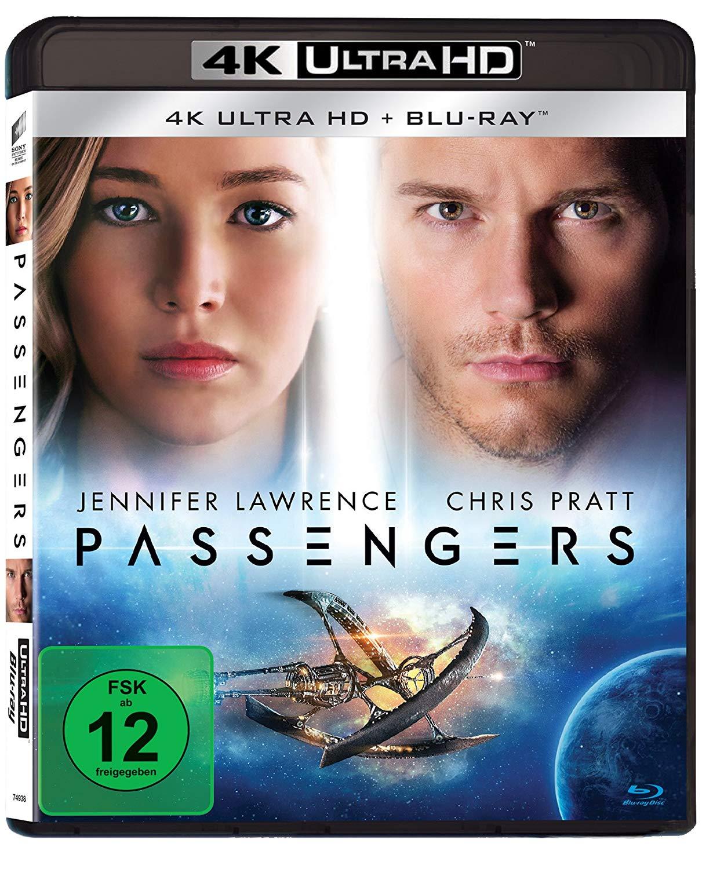 Passengers (4K Ultra HD + Blu-ray) (CeDe)