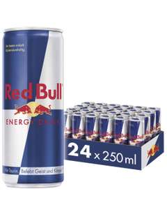 Red Bull Energy Drink 24er Palette für 21,32€ -> 0,63ct pro Dose