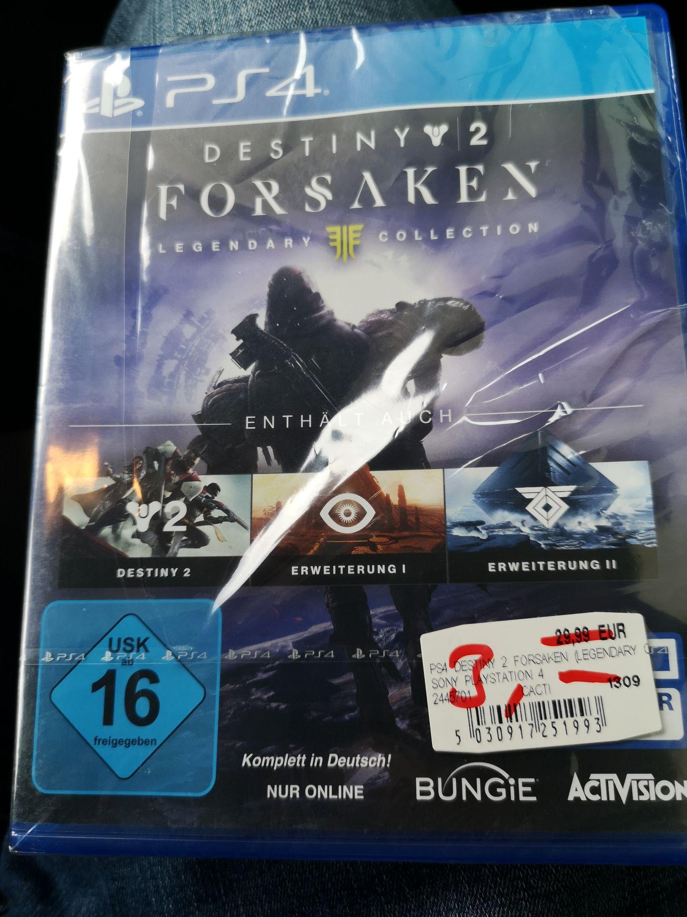 Destiny 2 Forsaken Legendary Edition (Lokal Holzminden)
