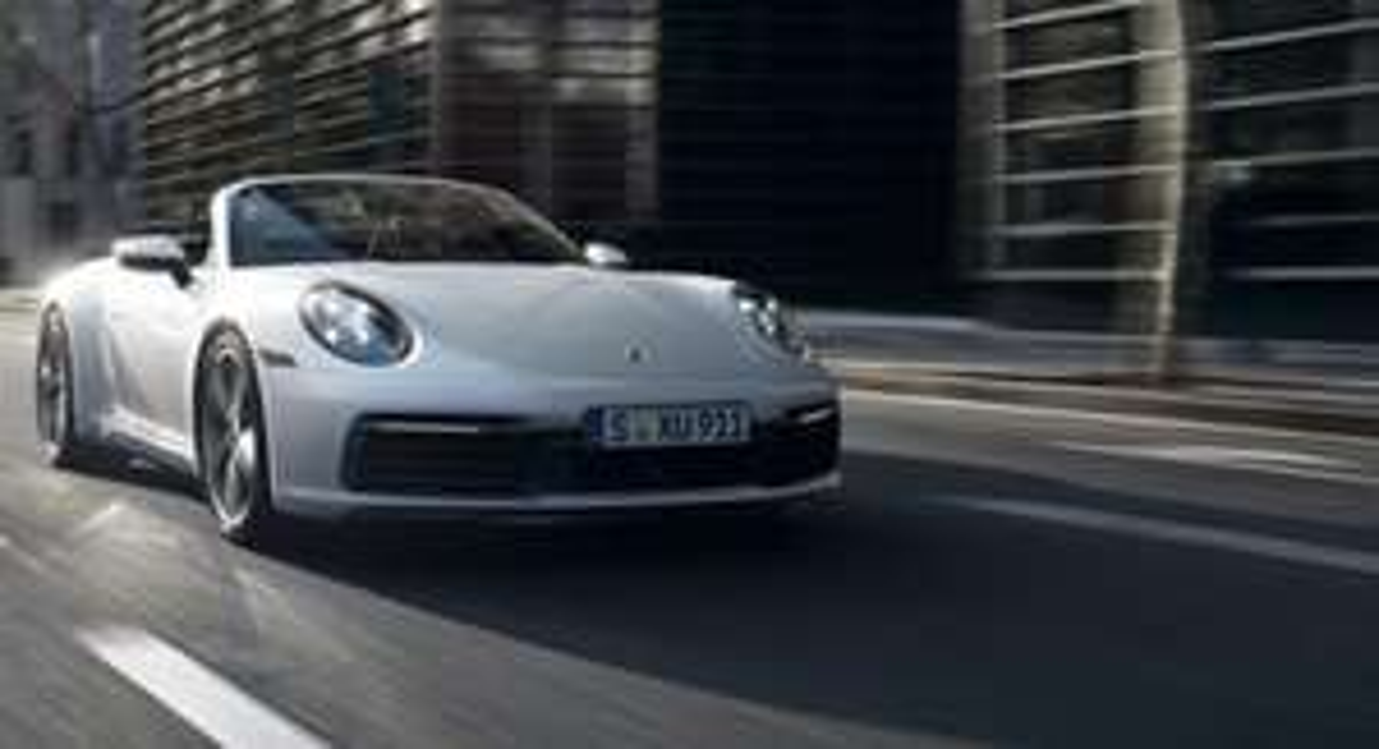 Porsche 911 oder Porsche Panamera für 3h mit 100km frei