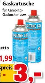 2 x Gaskartusche mit Butan Gas für 3 Euro [Thomas Philipps]