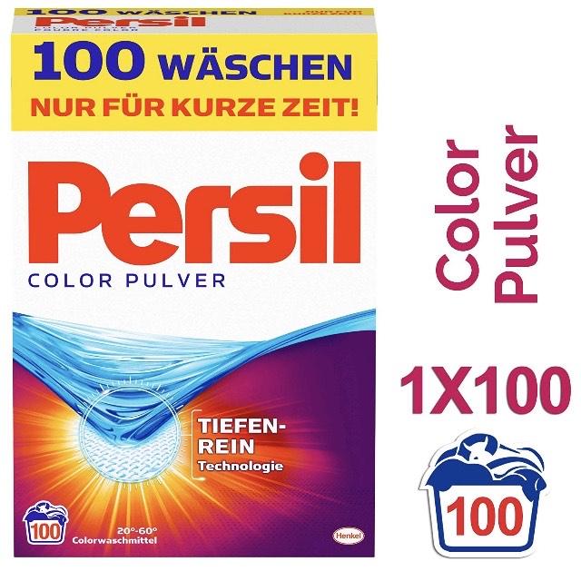[Amazon Personalisiert] 6,5kg Persil Color Pulver für 7,67€ (7,6ct je WL!)