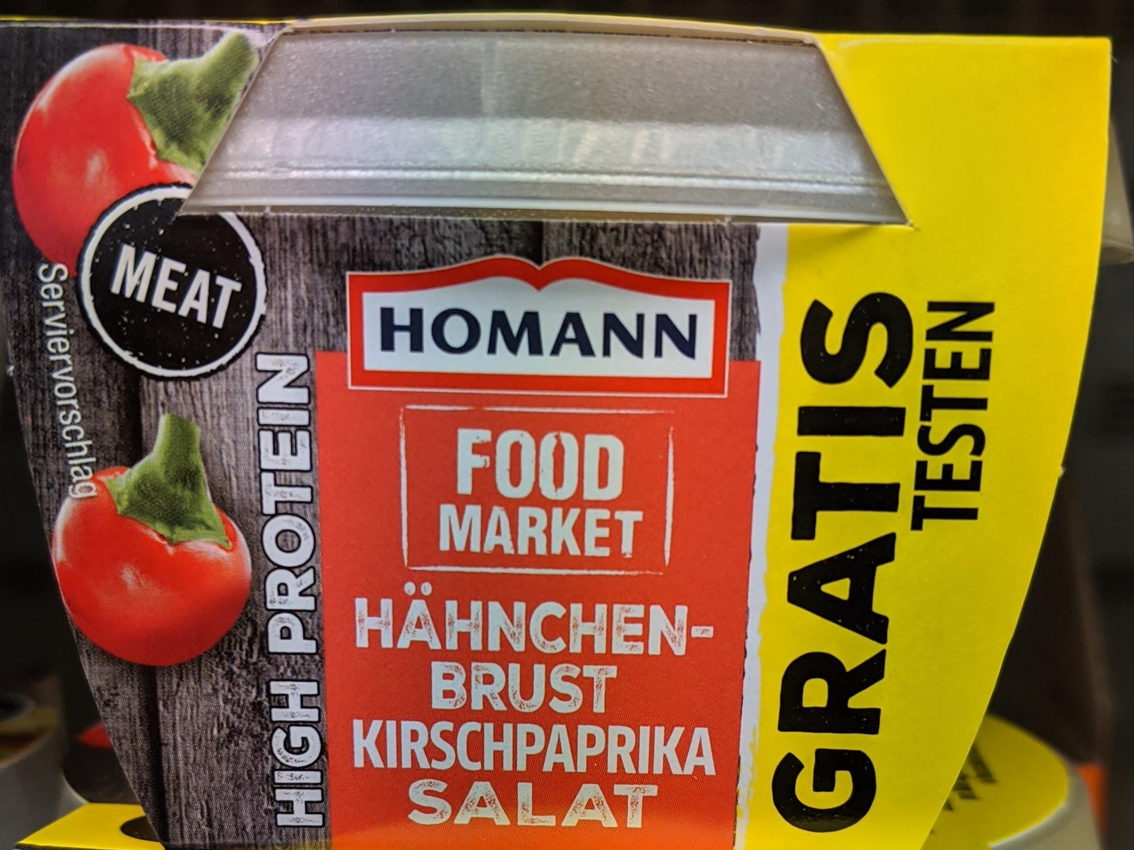Homann Food Market Produkte Gratis Testen GzG 100% Cashback ab 01.03.2020