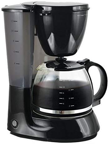 Emerio Kaffeemaschine 1,25 Liter, 750 W (Schwarz) für 14,99€ (Müller)