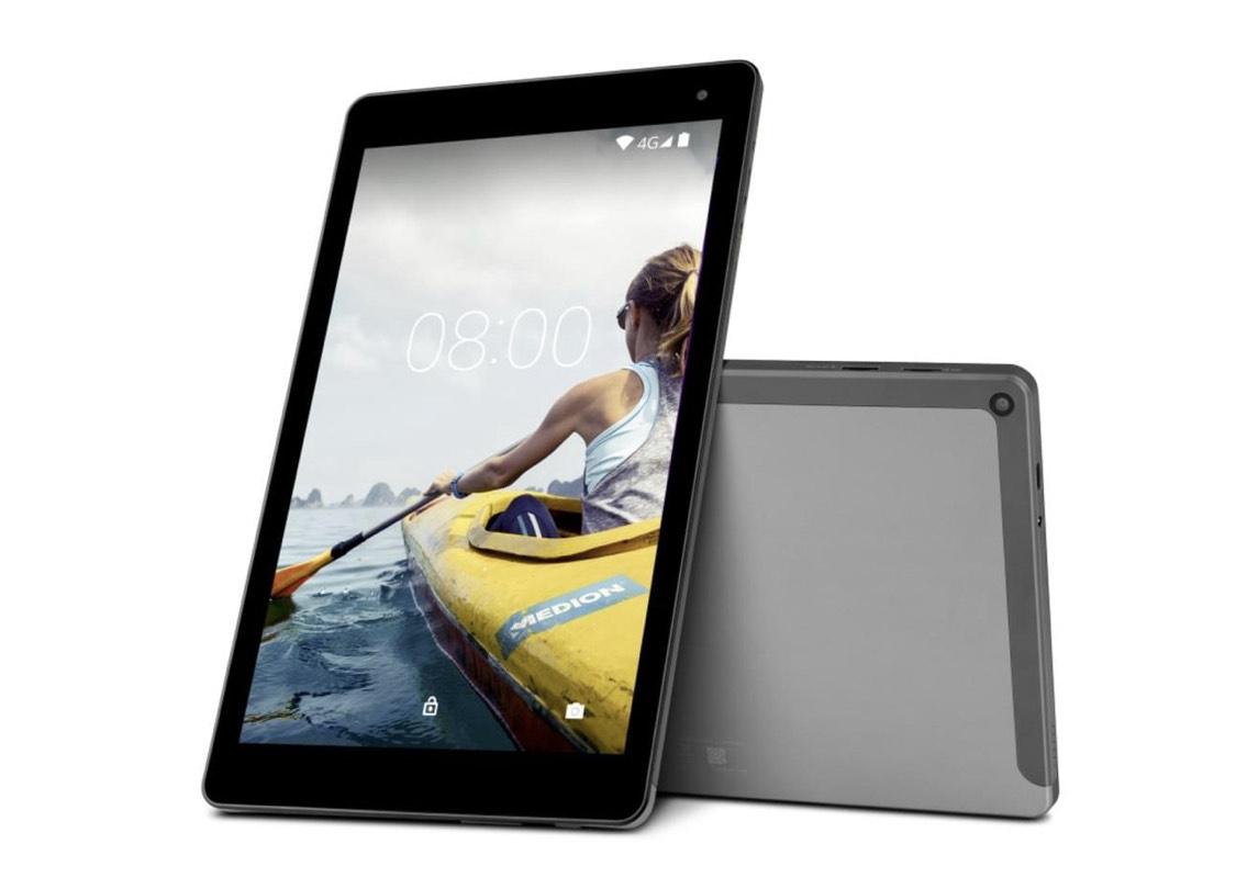 Real - Medion Tablet 25,7cm (10,1 Zoll) P10603, MD60876, LTE, 2GB RAM, 64GB Speicher