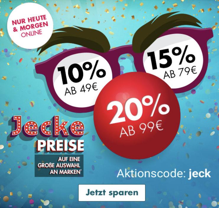 20% ab 99€ Einkaufswert - Galeria Karstadt Kaufhof