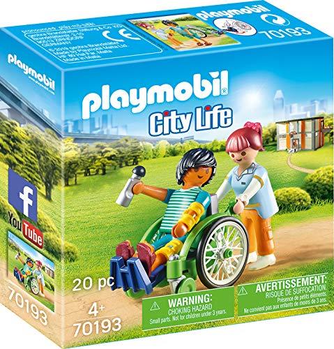 Playmobil City Life - Patient im Rollstuhl (70193) für 6,15€ (Amazon Prime & Real Abholung)