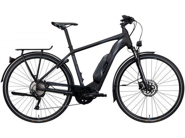 Merida eSPRESSO 600 EQ Trekking E-Bike mit Deore 10 Gang Schaltung und Shimano E8000 Mittelmotor