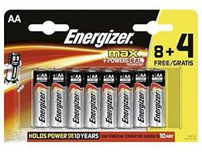 (Thomas Philipps OFFLINE) 8+4 Energizer Max + Powerseal Mignon AA oder Micro AAA Alkaline Batterien