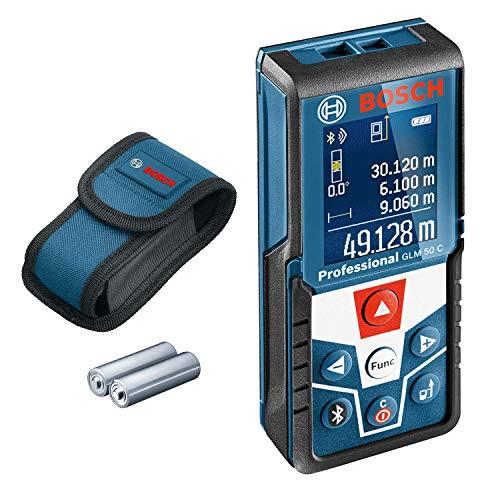 Bosch Professional Sammeldeal: z.B. Laser Entfernungsmesser GLM 50 C für 87,99€ o. digitales Ortungsgerät GMS 120 für 65,99€ [Amazon]