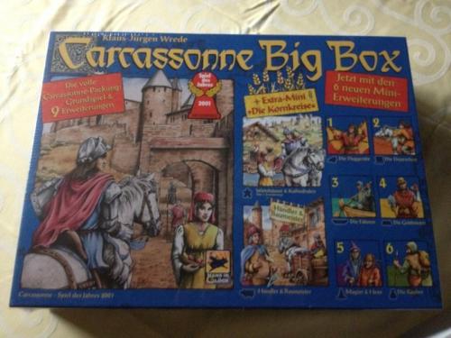 [lokal] Real Osnabrück: Carcassonne Big Box, Spiel + 9 Erweiterungen
