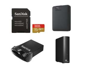 """SanDisk Extreme A2 microSD 64GB =11€ 