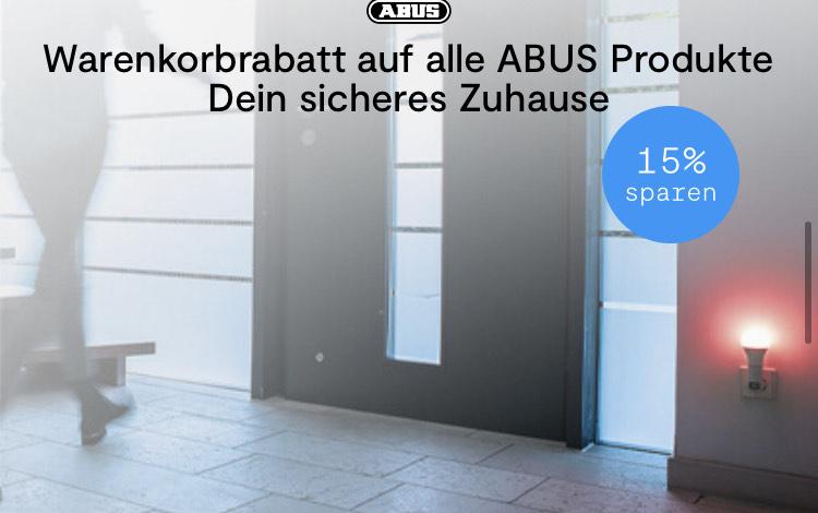 Tink: 15% auf alle Abus Produkte, auch Smartvest, Z-Wave