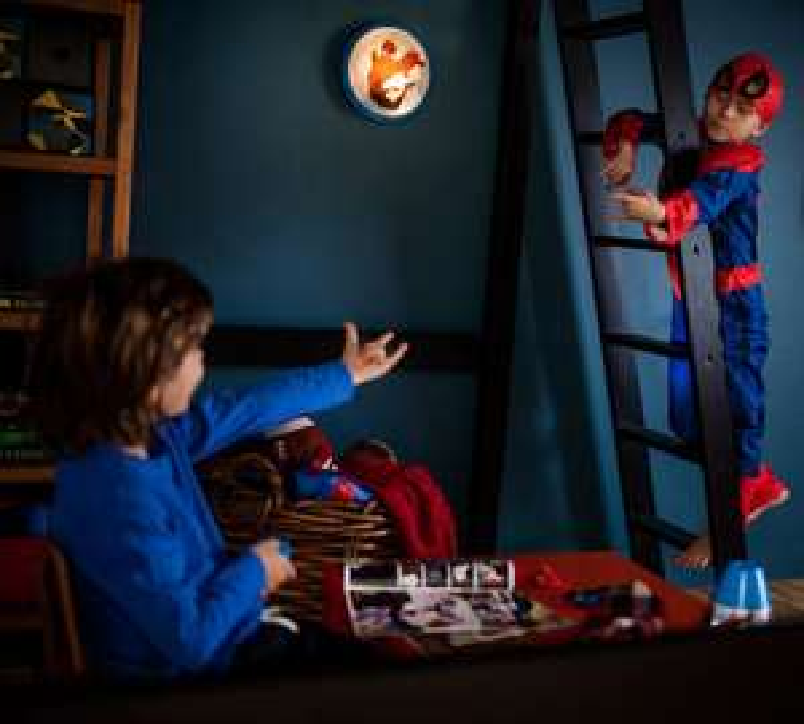 Philips LED-Deckenleuchten fürs Kinderzimmer (Spiderman und Disney Prinzessinnen, 4W, IP20)