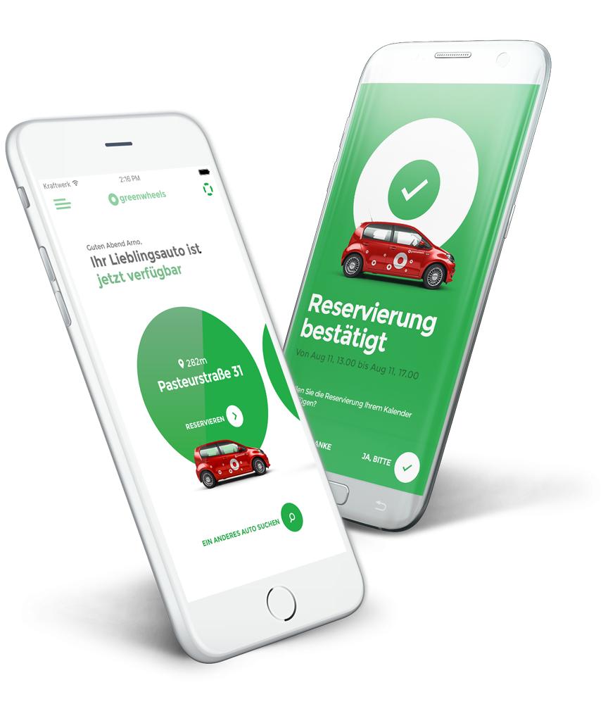 Greenwheels CarSharing - 20€ Fahrtguthaben, auch für Bestandskunden // BIS ZU 65€ möglich