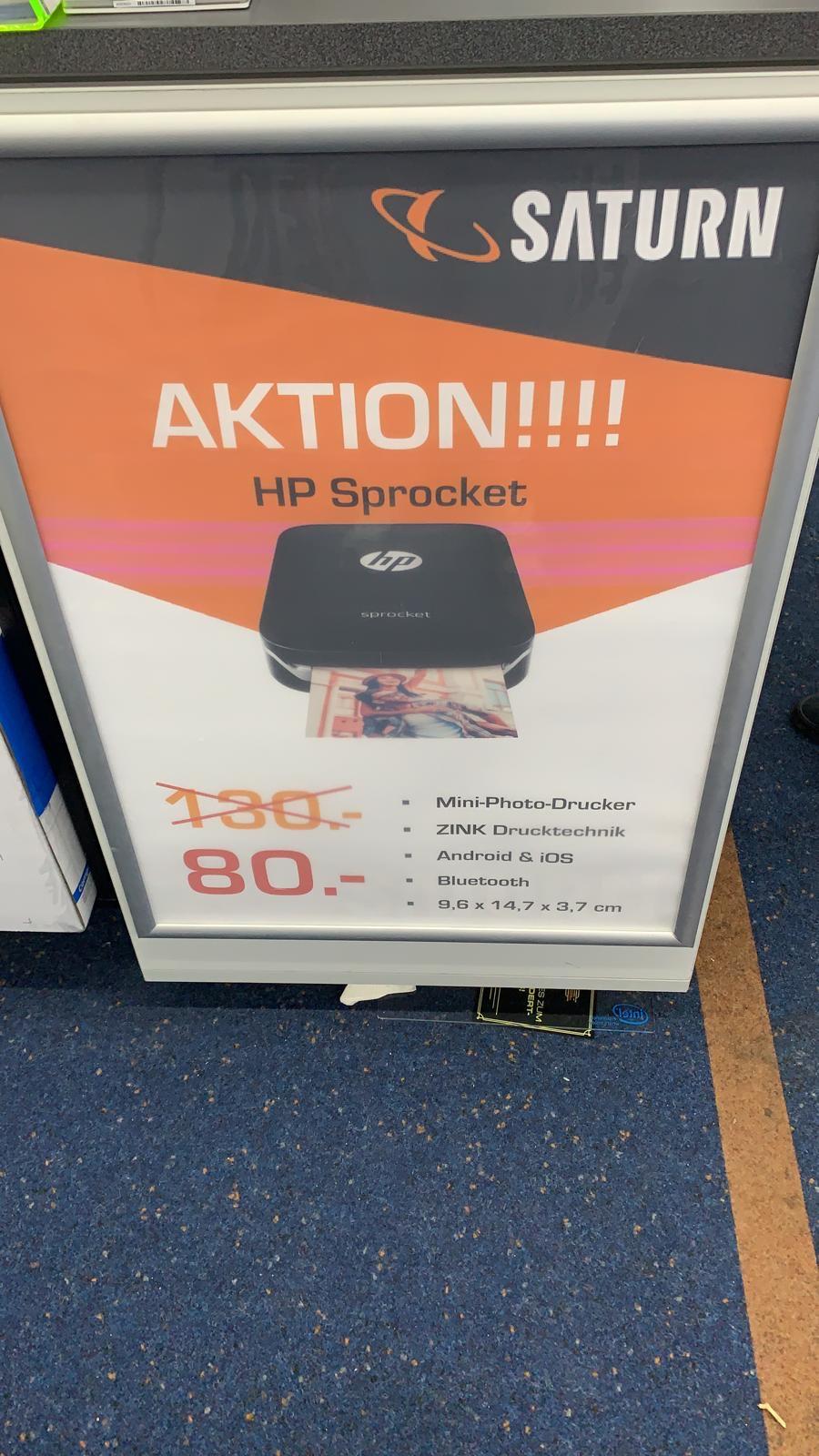 [Saturn Dortmund-Eving] HP Sprocket Schwarz