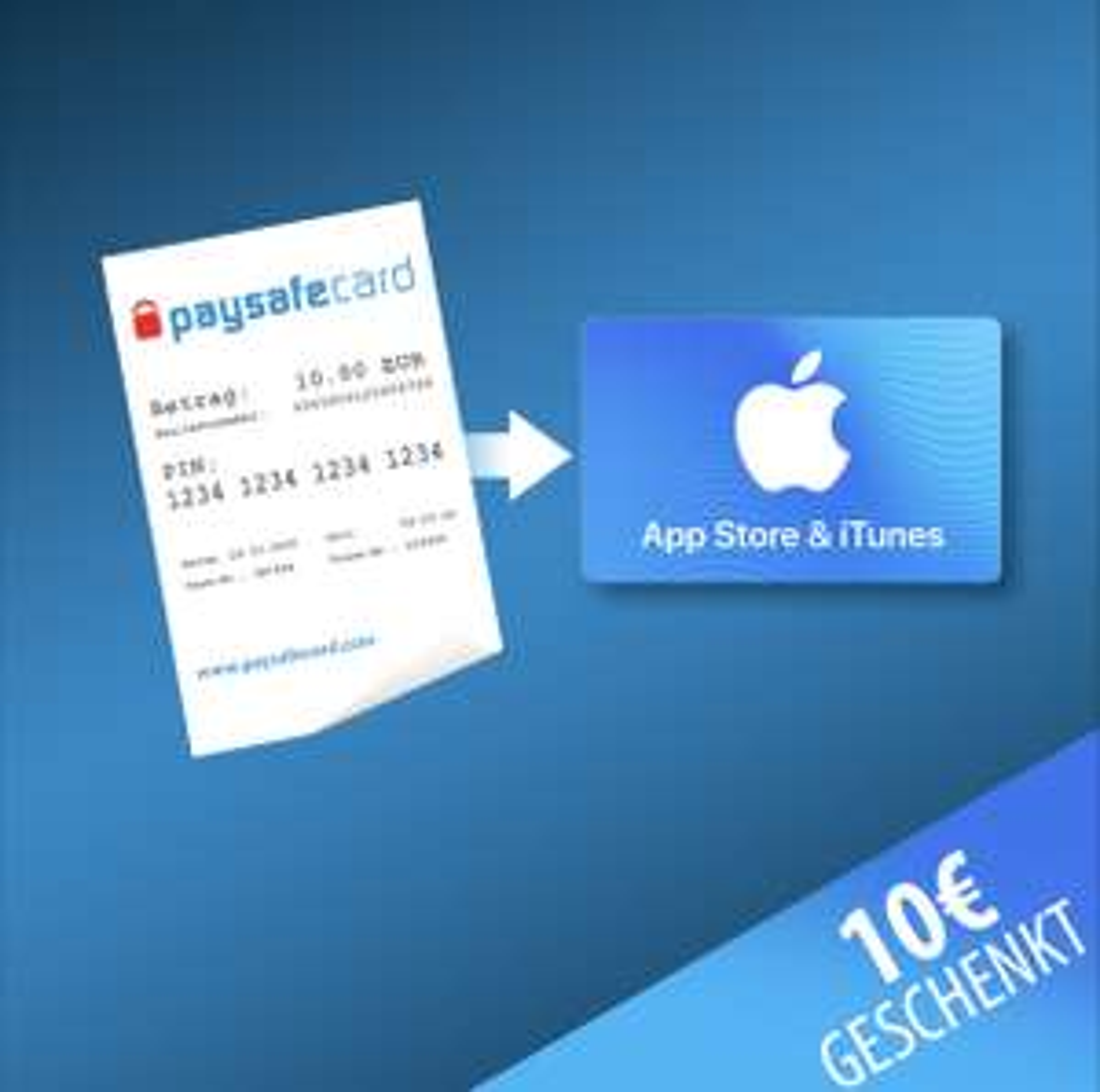 [Paysafecard.com] 10 Euro iTunes Guthaben für Neukunden