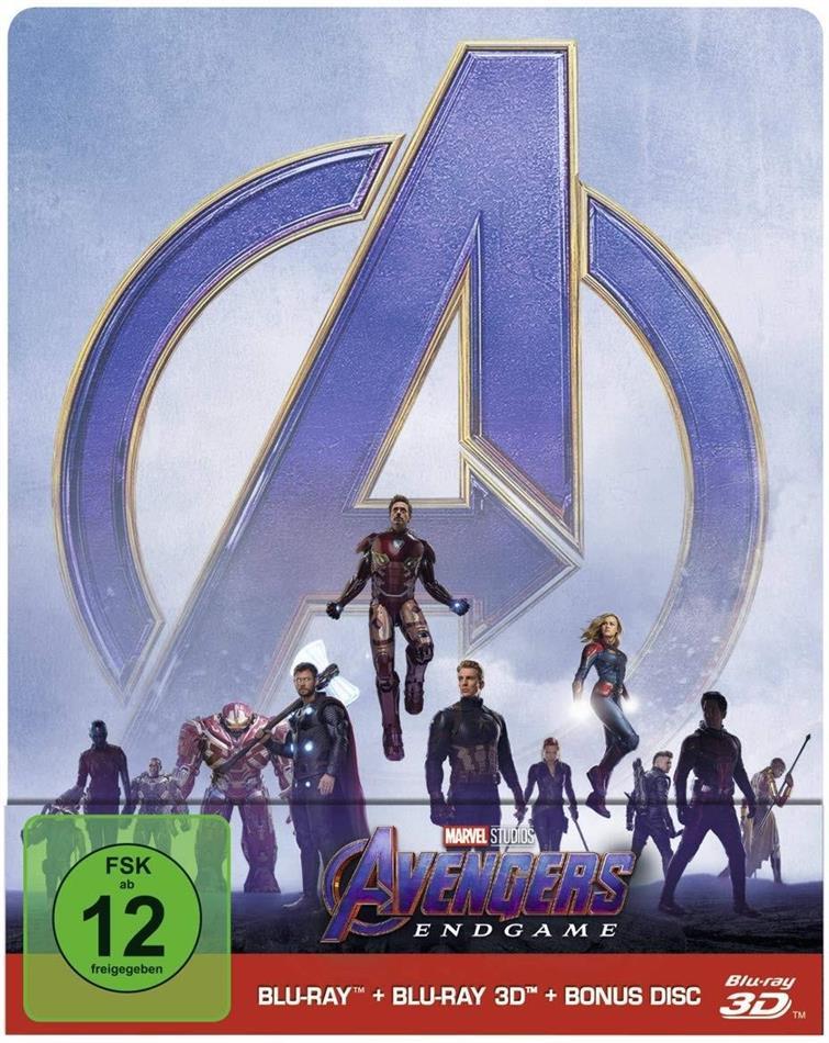 Avengers: Endgame 3D Limited Steelbook Edition (Blu-ray 3D + Blu-ray + Bonus Disc) für 16,99€ (Cede)