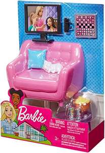 [AMAZON Prime] Barbie Möbel Spielset Wohnzimmer mit Kätzchen und Zubehör