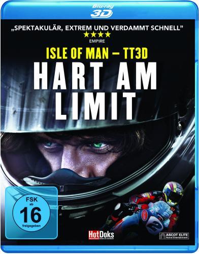 TT Isle of Man - Hart am Limit Blue Ray (3D)