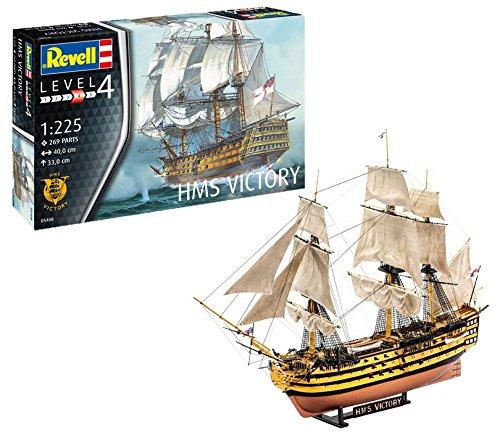 Revell Modellbausatz Schiff - H.M.S. Victory im Maßstab 1:225, Skill-Level: 4 für 14,45€ (Amazon Prime & Real Abholung)