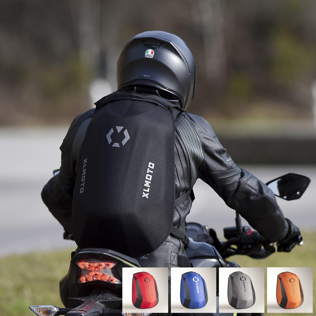 """XL Moto """"Slipstream"""" Motorrad Rucksack - 10% Newsletter"""