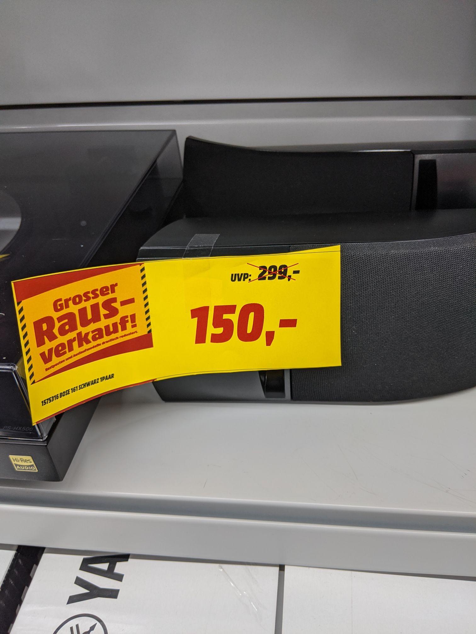 [Lokal Dortmund] Bose 161 Speaker System 1 Paar schwarz bei Mediamarkt