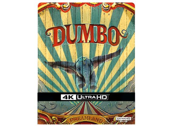 (Dodax.de) Dumbo Live Action 4K Steelbook FR-Import mit deutschem Ton (auf UHD)