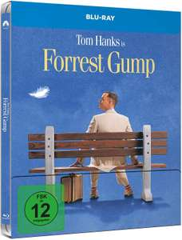 Forrest Gump (Steelbook) [Blu-ray] [Amazon Prime]