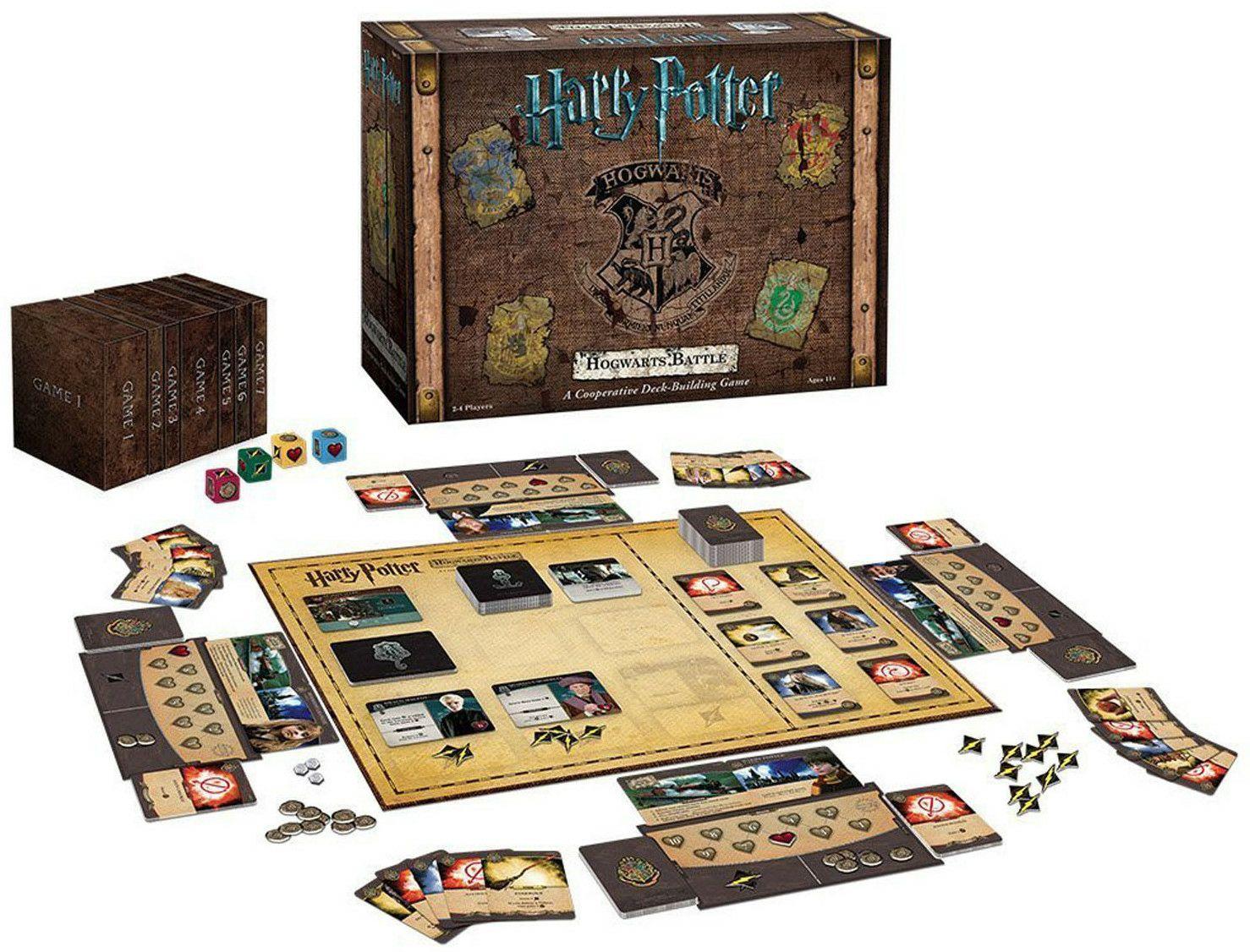 [bol.de] KOSMOS 693398 - Harry Potter - Kampf um Hogwarts, Kartenspiel, Strategie, Taktik, Familienspiel