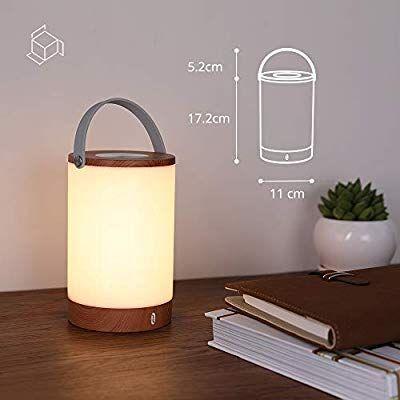 TaoTronics TT-DL033 – LED-Tischlampe in Holzoptik für 21€ (statt 31€) - Prime