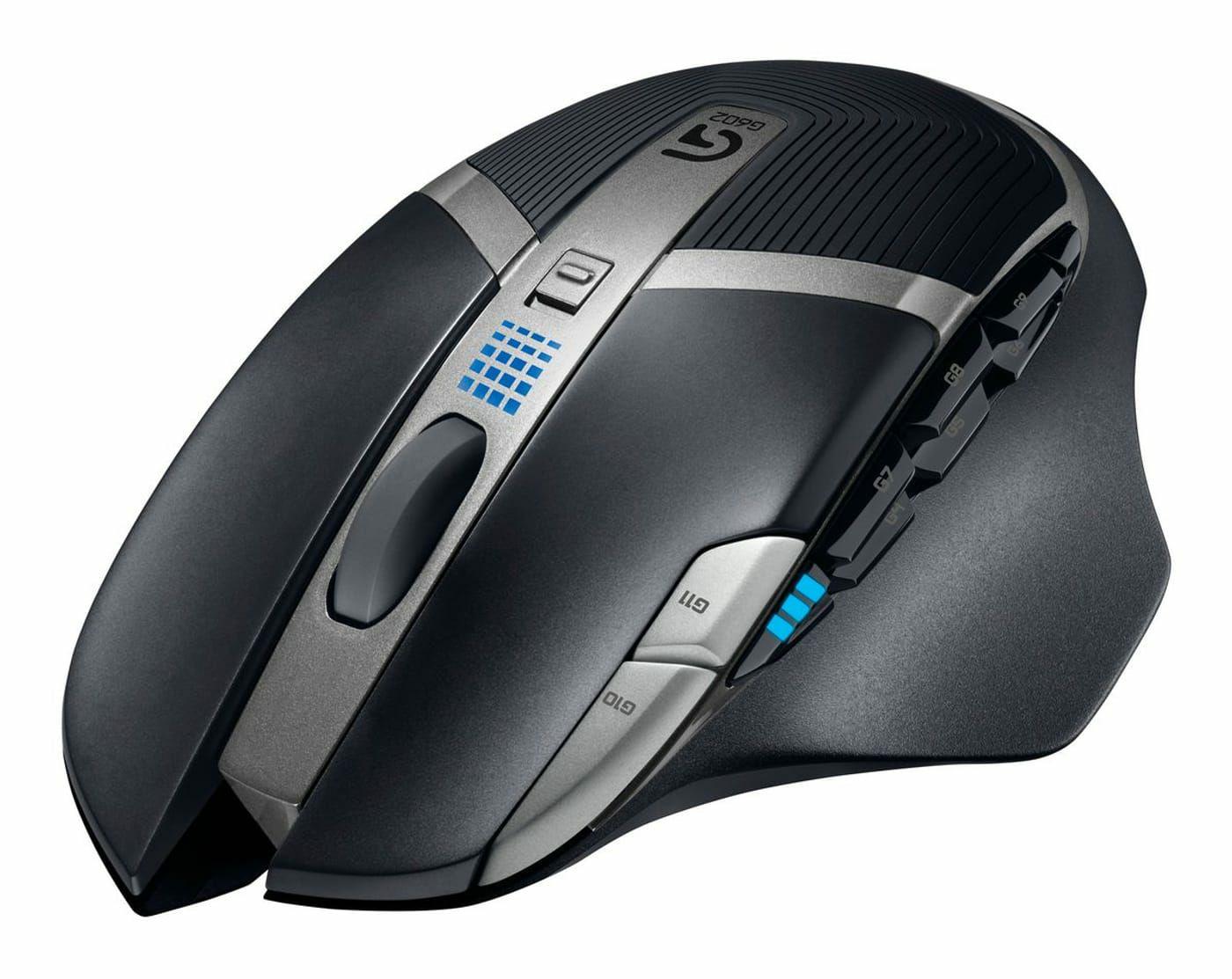 Logitech G602: Kabellose Gaming Maus (11 Tasten, 2500DPI, 250h Akku)