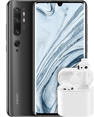 [688,75€ durch 120€ Shoop] Xiaomi Mi Note 10 Pro und Airdots Pro 2 om O2 Free M (20GB LTE) mtl. 29,99€ einm. 49€ [mit Kombivorteil 568,75€]