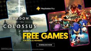 [PS4] Playstation Plus März: Shadow of the Colossus & Sonic Forces