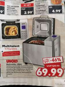 "[Kaufland] Brotbackautomat ""Unold Backmeister Edel"""