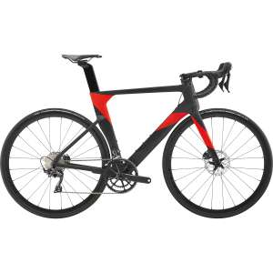 Cannondale SYSTEMSIX Ultegra Rennrad - 2019 - acid red - 54