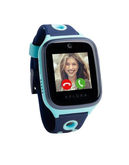 Kids Smartwatch Xplora 4 für einmalig 1,11€, effektive Vertragskosten 2,58€ mtl. (250 MB LTE im D-Netz, 50 Freiminuten, 9,99€ mtl. Kosten)