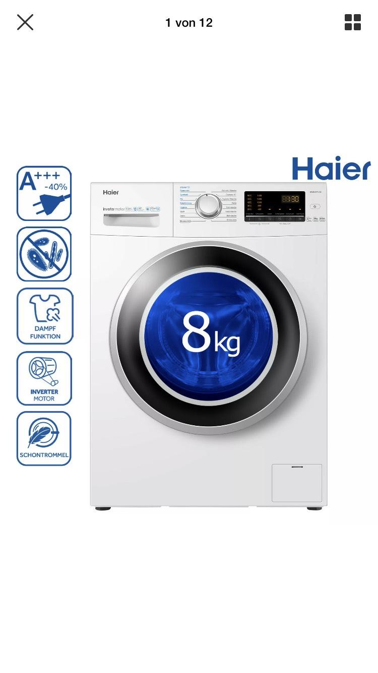 Waschmaschine A+++ von Haier HW80-BP1439 8KG