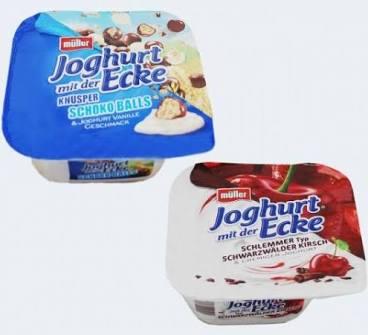 [Reebate] 0,30€ Cashback auf Müller Joghurt mit der Ecke (Freebie möglich)