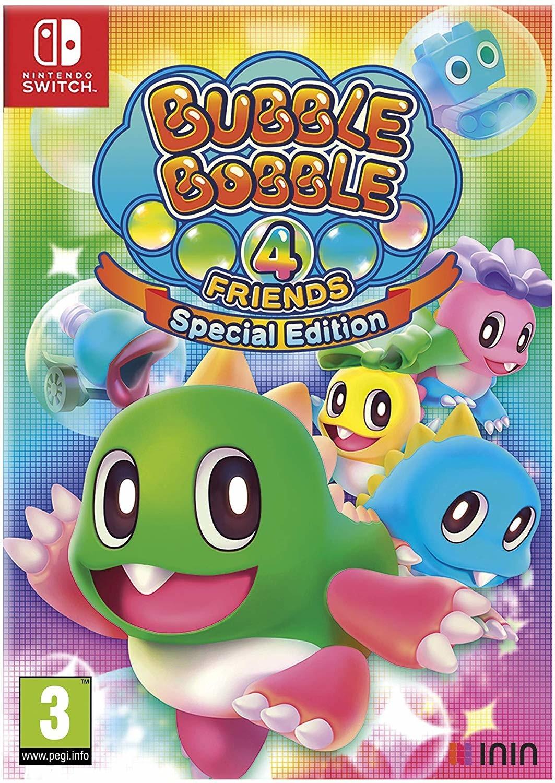 Bubble Bobble 4 Friends Special Edition (Switch) für 33,58€ (Amazon ES)