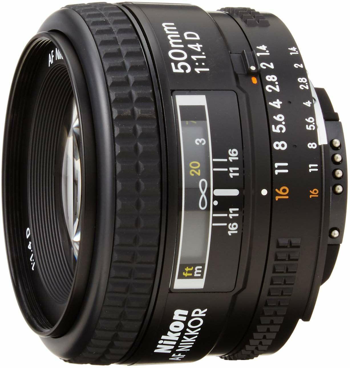 Nikon AF Nikkor 50mm 1.4D Objectiv (Amazon.es)