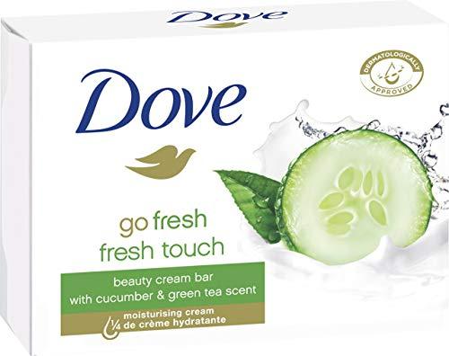 Dove go fresh fresh Seife, 8er Pack (8 x 100 g) für 3,90€ & Dove Pflegende Hand-Waschlotion 6er Pack (6 x 250 ml) für 4,80€ (Amazon Prime)
