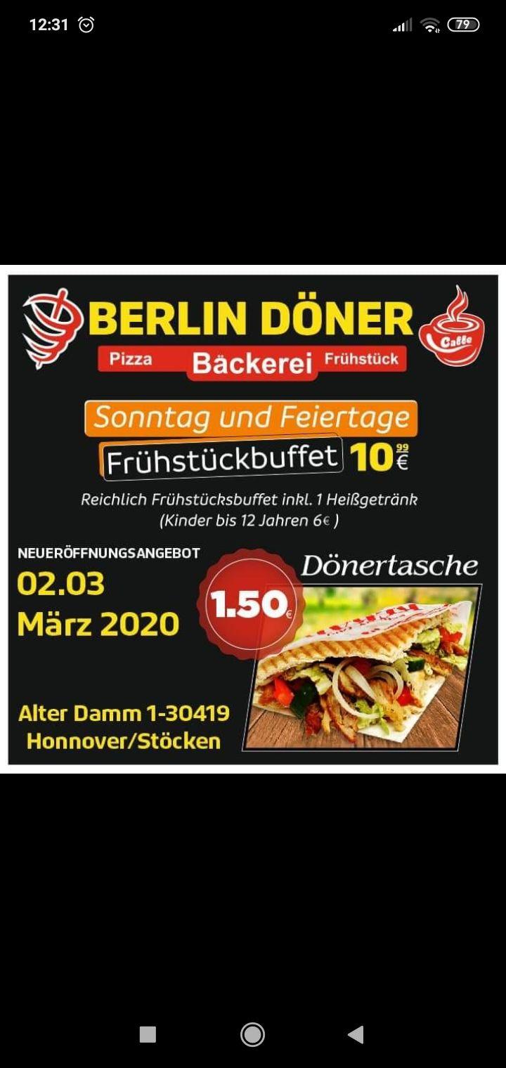Dönertasche für 1.50€ am 2. März in Hannover/Stöcken