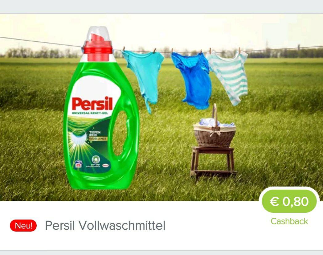 Marktguru Cashback Persil Vollwaschmittel 0,80€