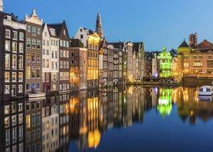 Amsterdam: 4*Eco-Hotel Doppelzimmer & Late Check-Out / 24,50€ p.P. / März