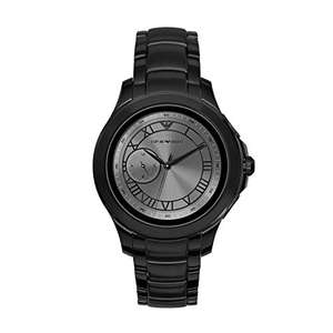 Emporio Armani Connected Alberto Smartwatch schwarz